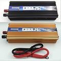 Black 2000W power inverter Car Vehicle USB DC 12V to AC 220V Power Inverter Adapter Converter car styling