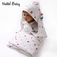Spring Autumn Newborn Baby Blanket Soft Cotton Bamboo Fiber Kids Receiving Blankets Baby Swaddle Bedding Sleeping