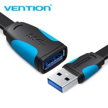 Кабель Vention USB 3,0, Суперскоростной USB кабель-удлинитель «Папа-мама», 0,5 м, 1 м, 1,5 м, 2 м, 3 м, USB кабель-удлинитель для передачи данных и синхронизации