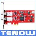 EU Warehouse Shipping! TBS6902 DVB-S2 Dual Tuner PCIe Card