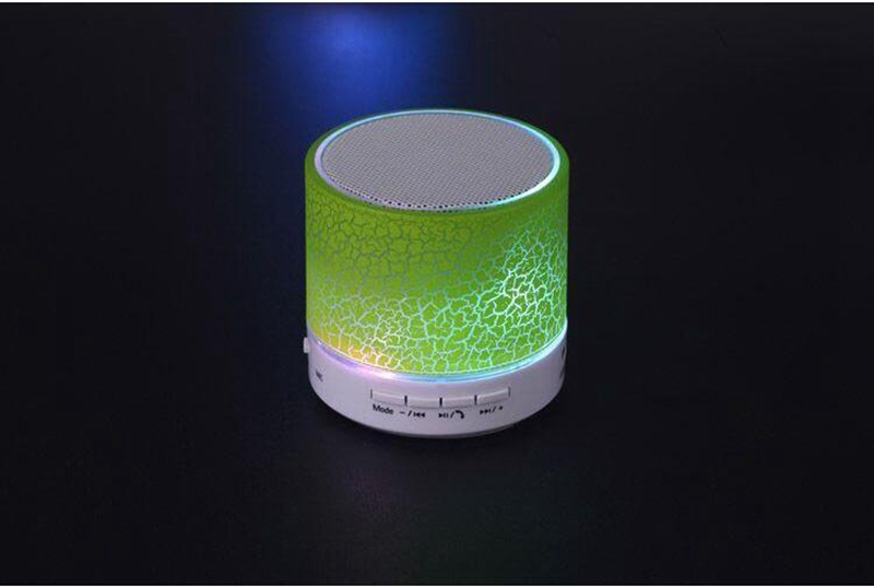 Ollivan A9 LED Bluetooth Speaker Mini Speakers Hands Free Portable Wireless Speaker With TF Card Mic USB Audio Music Player (2)