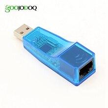 Zewnętrzne USB adapter sieci Ethernet USB 2.0 do RJ45 Ethernet przewodowa karta sieciowa LAN do laptopa Windows 7/8/10/XP złącze RD9700