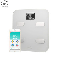 Original Smart Yunmai Premium m1302 Weight Scale Fat Percentage Digital Body Fat Weighing Scale Premium Support Bluetooth APP