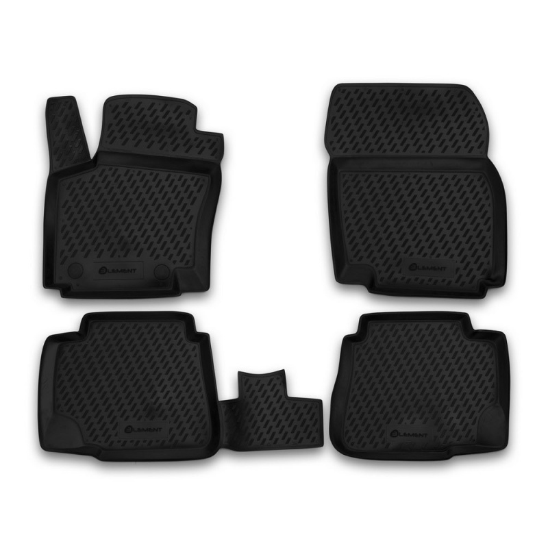 Mats in the salon For FORD Mondeo 2007-2014, 4 PCs (polyurethane) mats in the salon for ford escape 2007 3 pcs polyurethane