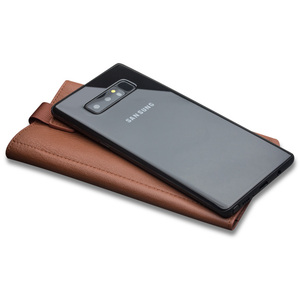 Image 2 - QIALINO Business Style Case for Samsung Galaxy Note 9 Handmade Genuine Leather Wallet Pouch Card Slot Cover for Samsung  Note 8
