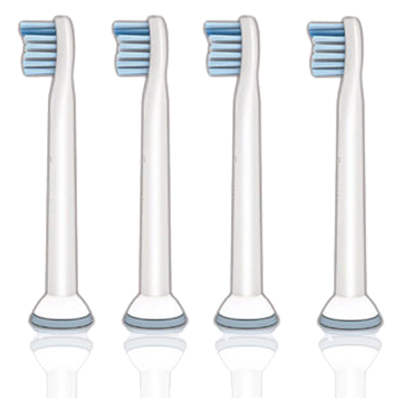 4PCS=1PACK Electric Toothbrushes Heads Replacement for Philips Sonicare Sensitive HX6084 HX6930 HX6950 Kids Soft Bristles Flexca 4pcs lot replacement toothbrush heads for philips sonicare proresults hx6013 66 hx6530 hx9340 hx6930 hx6950 hx6710 hx9140