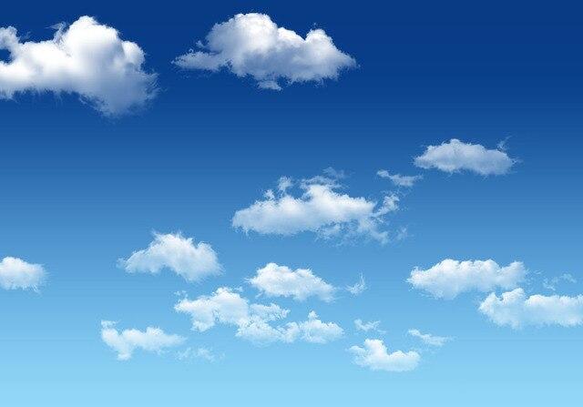 Fotos E Imagenes Cielo Azul Con Nubes: Fondo Fotográfico Personalizado SHANNY 7x5ft Cielo Y Nube