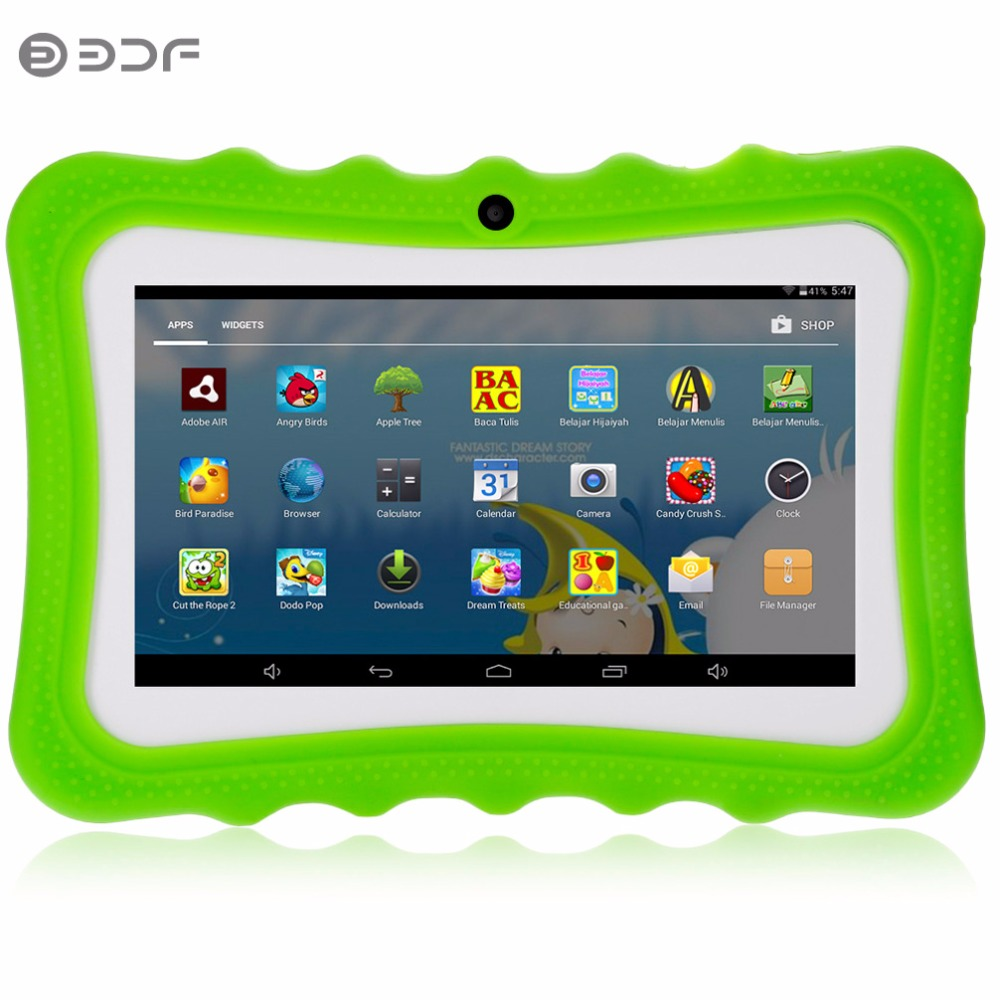цена на 7 Inch Cheap and Simple Children's Tablet PC Education Android 4.4 Quad core Nice Design Learning entertainment tablet Pc