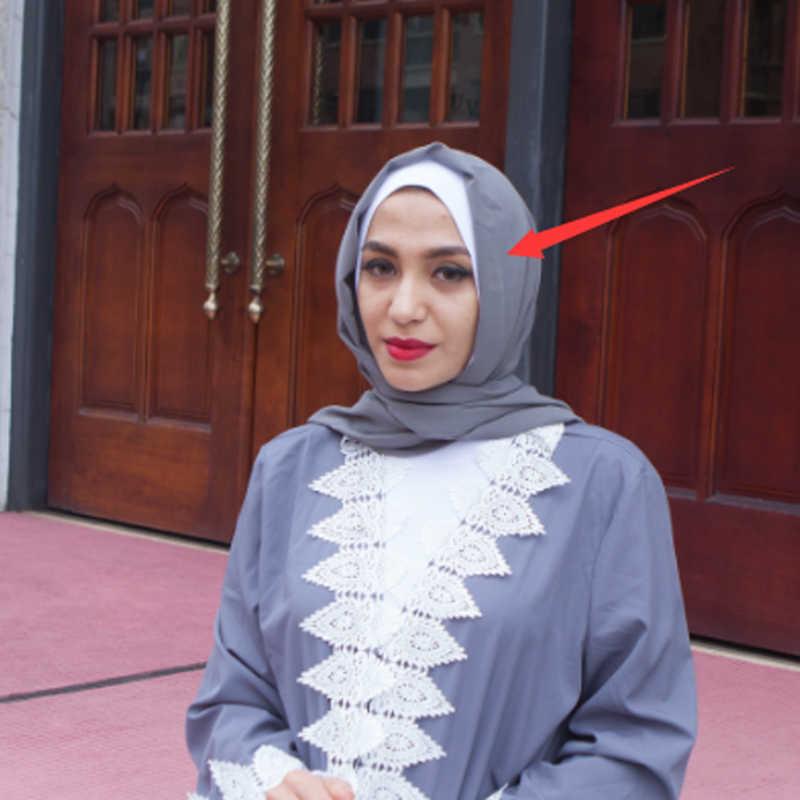 8232a3acb41 ... Plus Size Abaya Kimono 2019 Gray Muslim Women Long Patchwork Lace Maxi  Cardigan Dubai Turkish Islamic