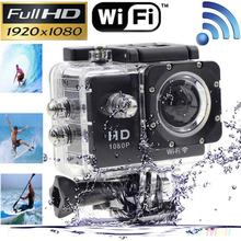 For Wifi Action Camera 1080P HD 4K 2.0″ Sports DV Video Camera Mini Camcorder With Waterproof Case Shell Travel Kits Set