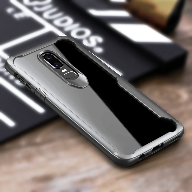 Airbag Bumper Protection Case For Oneplus 6t Mclaren: ARTUNG Case For Oneplus 6 1+6 Transparent Anti Knock