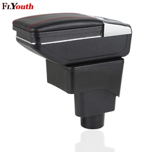 For Ford Ecosport 2013-2017 Car Armrest Box Interior Pu Leather Central Store Content Box Cup Holder Ashtray Car-Styling for ford ecosport 2013 2017 car central container armrest box auto car styling central store content box cup holder accessori