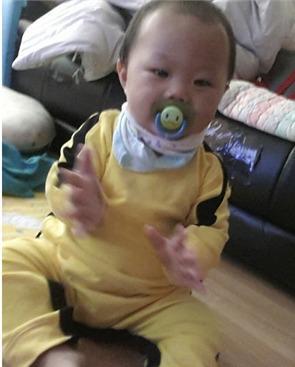 Cotton Spring Autumn New Bruce Lee Yellow Jumpsuit Romper Newborn