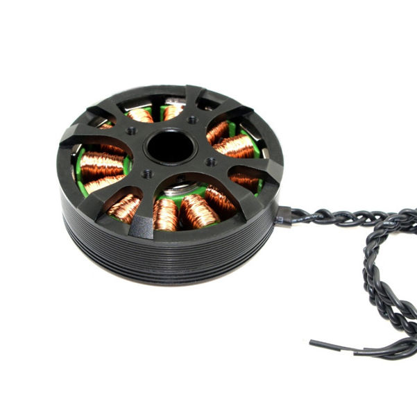 Ipower карданный безщеточный GBM5208H-180T полый вал W / кольцо для камеры 1.8 кг канона 5D2 / 5D3 D800 A900 карданный FPV