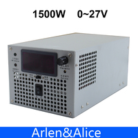 1500W 27V 220V 55 5A INPUT Adjustable Single Output Switching Power Supply Adjustable AC To DC