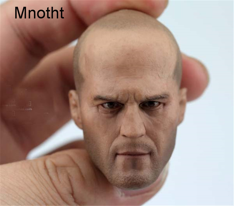 Mnotht 1/6 The Expendables Machinist Head Sculpt 12in MaleSolider Jason Statham Head Carving Model For 12in Action Figure l31