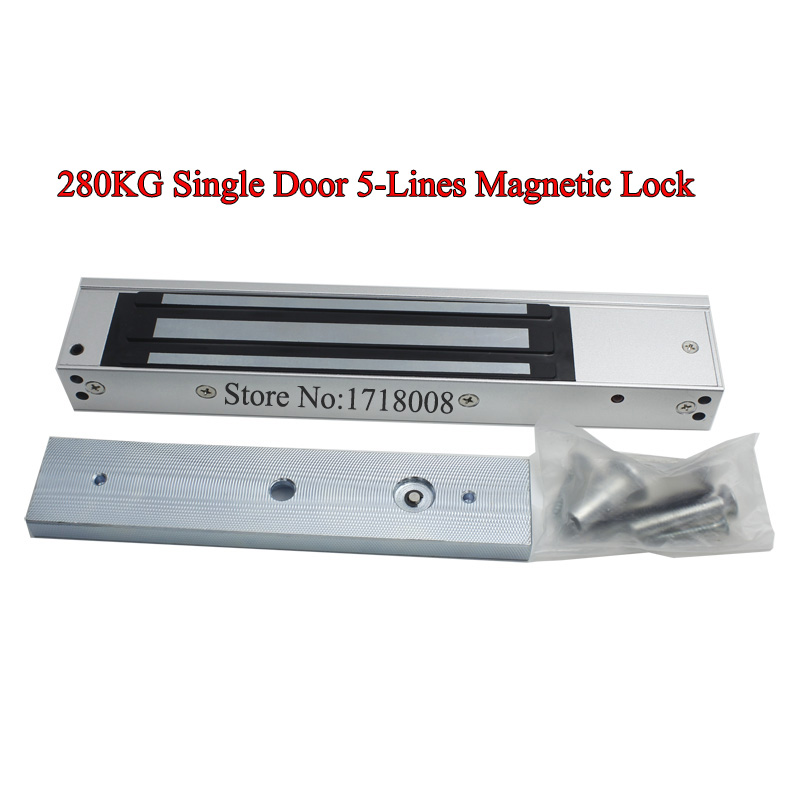 M280B Surface-mounted 280kg magnetic lock mounted wooden foot iron door electromagnetic lock suction lock with led indicator the ivory white european super suction wall mounted gate unique smoke door