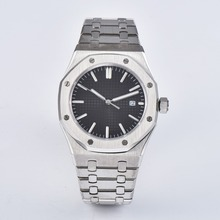 automatic mens watch sapphire crystal 41mm stainless steel b