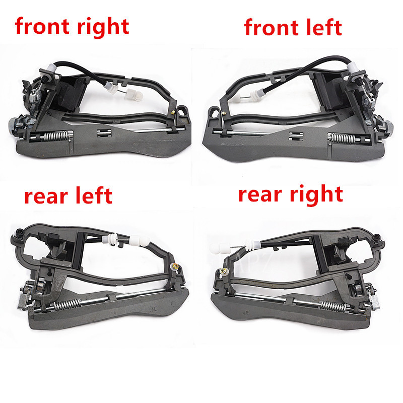 Door Handle Carrier Frame Exterior Front rear Left right LH Driver Side for 00 07 BMW X5 e53 51218243615 51218243615