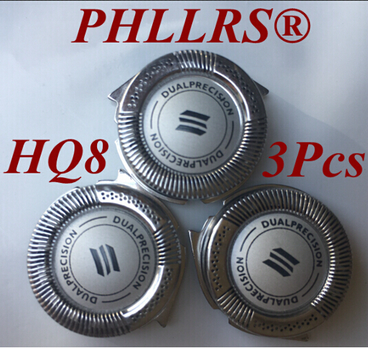Сменные лезвия HQ8 для бритвы philips, насадки для электробритвы PT730, PT735, PT860, PT870, AT750, AT751, AT890, AT891, HQ7120, HQ7100, HQ7140, HQ9, 3 шт.