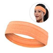 Впитывающая спортивная повязка от пота, спортивная повязка на голову для фитнеса, тенниса, бадминтона, баскетбола, бега, йоги, повязки для волос