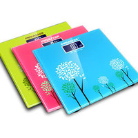 070453 Fashion Hd Screen Printing Precision Electronic Weighing Scale Resemble Supersized LCD Health Scale
