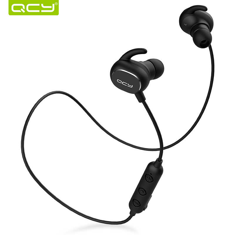2018 QCY QY19 Bluetooth słuchawki z mikrofonem bezprzewodowe słuchawki sportowe IPX4 słuchawki Stereo zestaw słuchawkowy