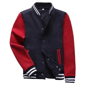 2020 novos homens jaqueta de beisebol bomber jaqueta casaco masculino blusas gola moda costela manga inferior jaquetas frete grátis