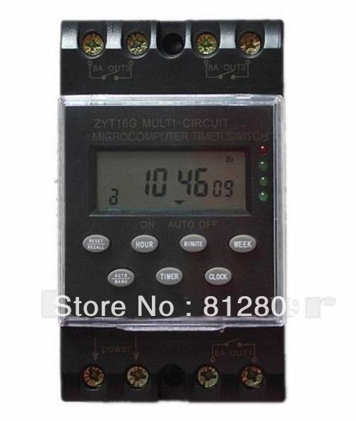 NEW ZYT16G-3a multi channel automatic program/programmable timer switches 220V an incremental graft parsing based program development environment