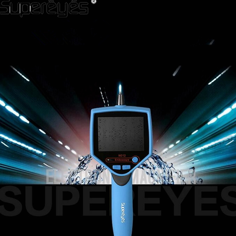 Supereyes 3.5 Monitor Waterproof Borescope Videoscope 9MM Diameter 800MM Snake Tube Endoscope Camera with LED Inspection N012J supereyes 3 5 monitor waterproof borescope videoscope 9mm diameter 800mm snake tube endoscope camera with led inspection n012j