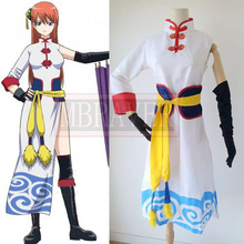 Palgantong japón anime silver soul Kagura cosplay traje
