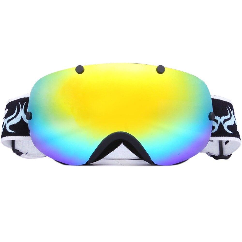 Зимние спортивные лыжные очки УФ лыжные очки для взрослых