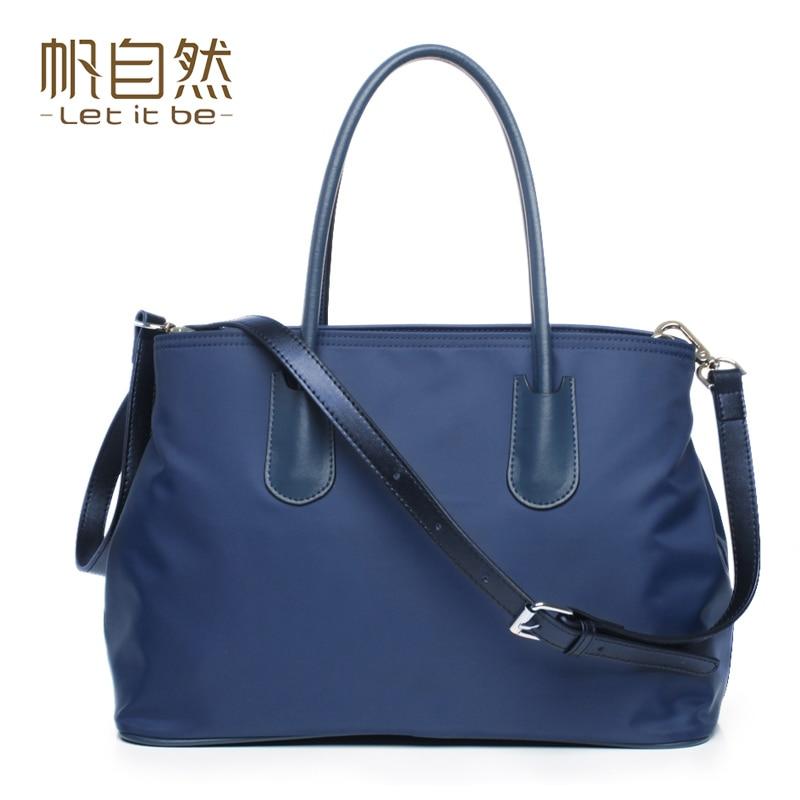 ФОТО 2016 new stylish women crossbody bag nylon bags female casual handbag let it be brand bolsa