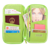キャンディカラー旅行パスポートクレジットidカードホルダー現金財布オーガナイザーバッグ財布財布ファッションPC0018
