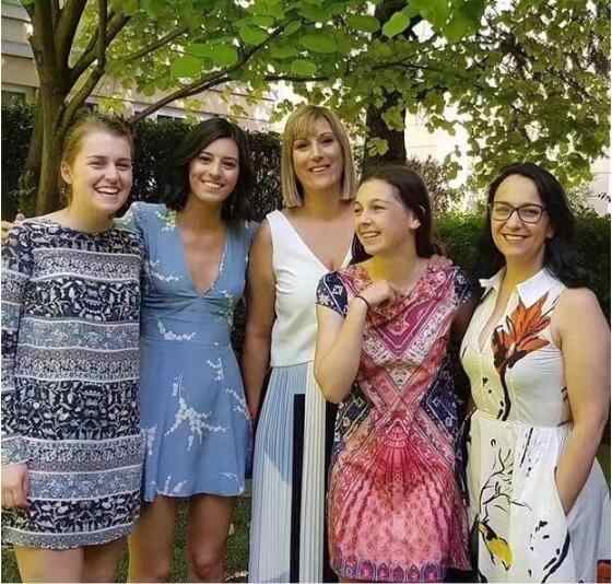 Sweet Deep V Neck Ears Flower Wheat Print Mini Short Dress 2019 Summer Woman Back Zipper Short Sleeve Dresses With Lined
