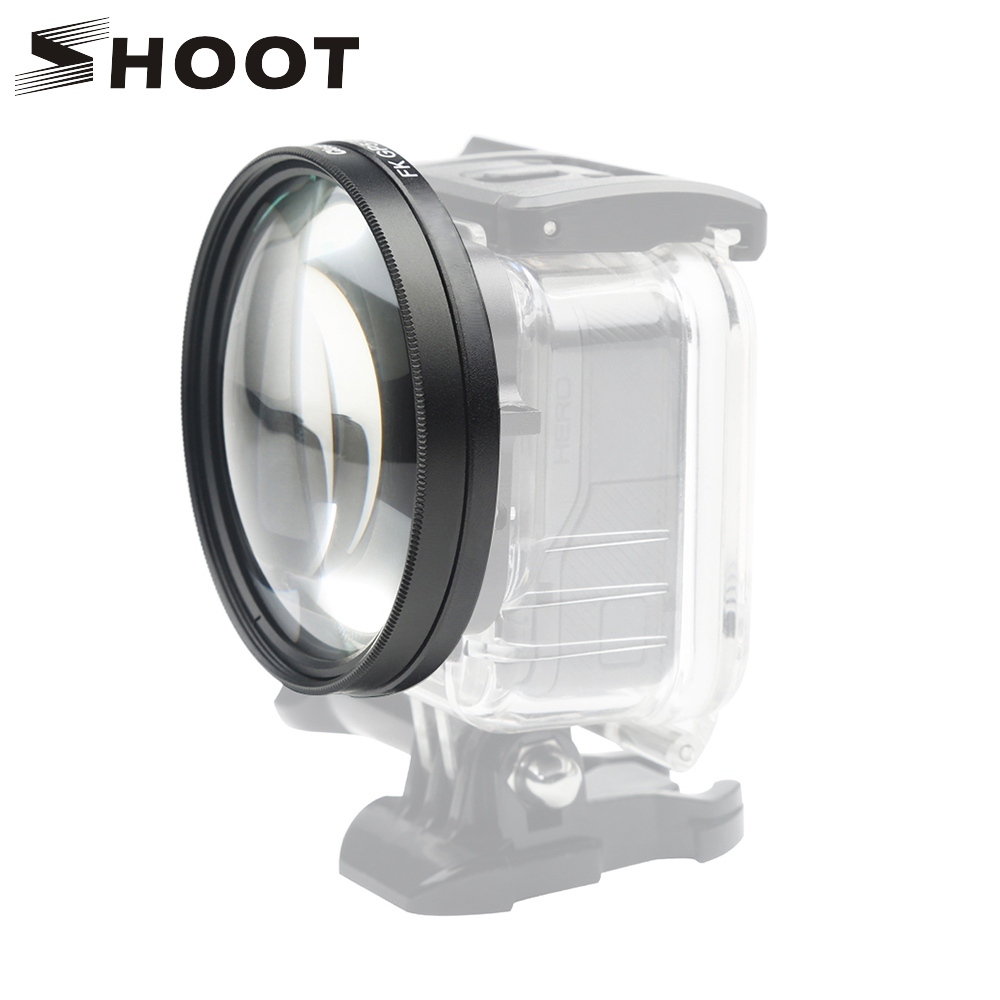 Gopro 7 6 5 Close-Up Macro Filter Lens 10X Magnification High Definition Super S