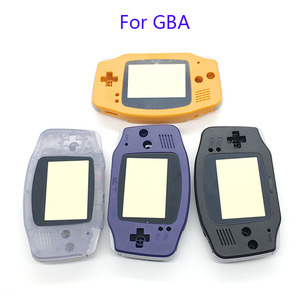 Image 2 - Housing Shell Case Cover+Screen Lens Protector +Stick Label for Gameboy Advance GBA Console
