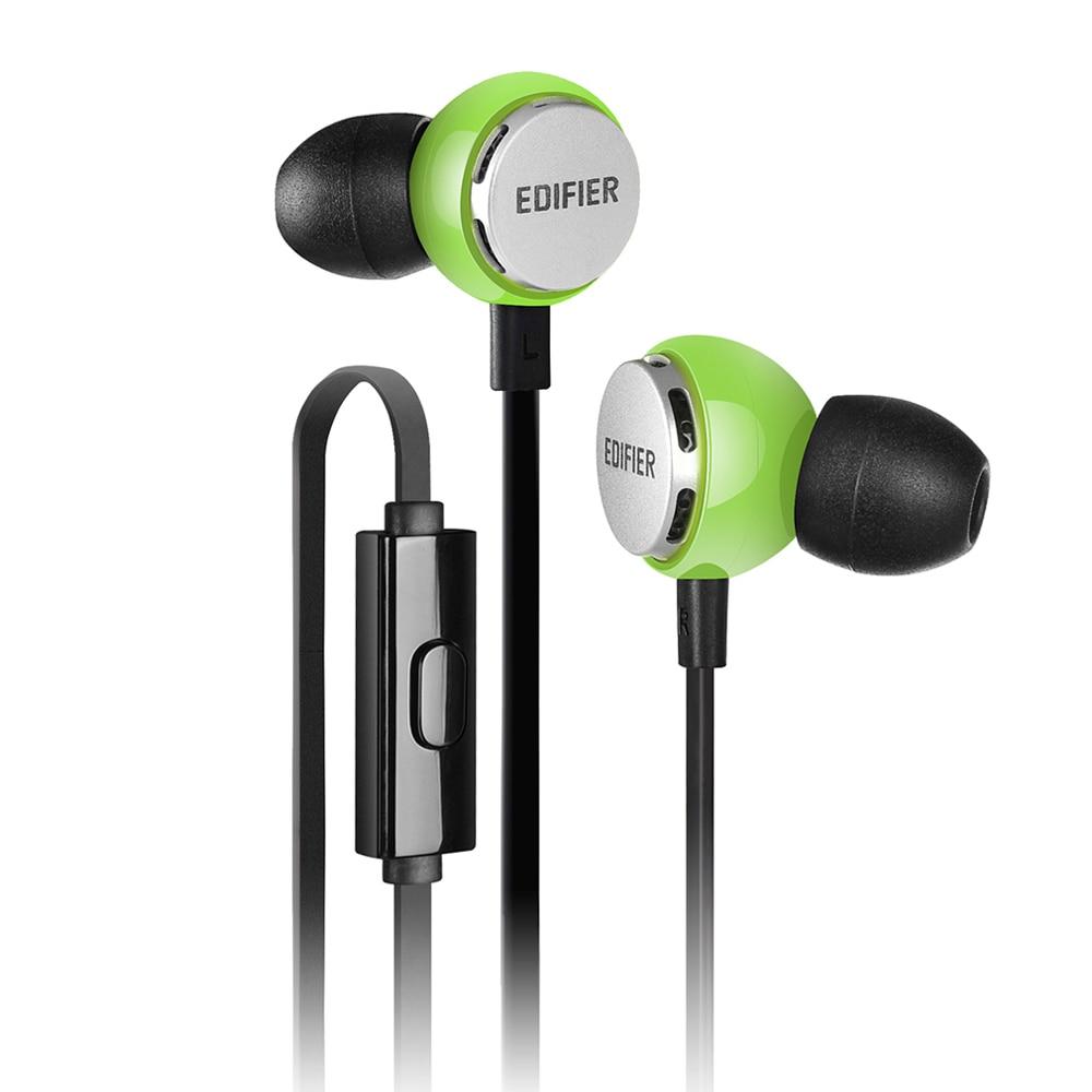 Edifier P293 In-Ear Earphone High end Bass Headset Flashy style HIFI Noise-isolating Earphone with mic for iphone Xiaomi Huawei 2