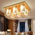 Neue Chinesische decke lampe rechteckige schmiedeeisen wohnzimmer lampe moderne kreative esszimmer lampe LED decke lichter LO8917-in Deckenleuchten aus Licht & Beleuchtung bei