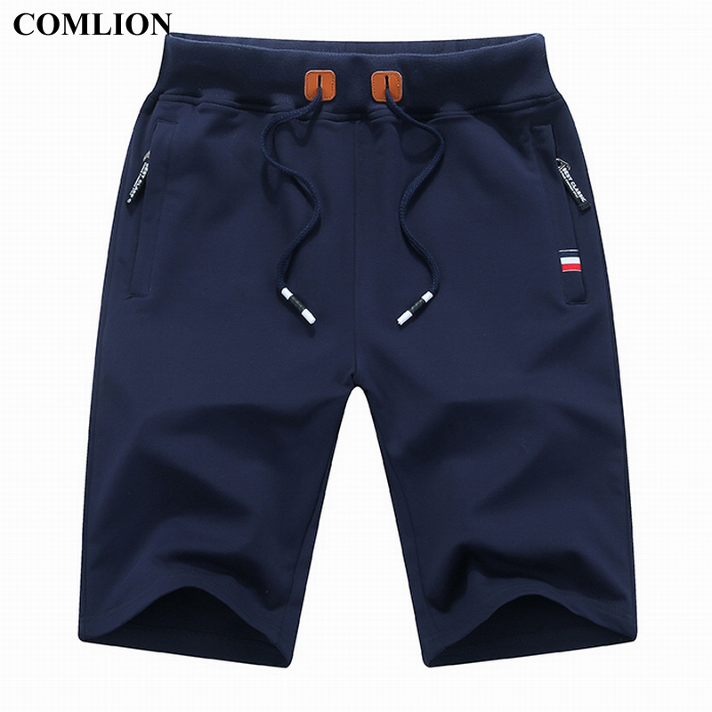COMLION New Arrival Men Shorts Summer Brand Casual Shorts Mens Cotton Homme Stylish Casual Beach Shorts Male Short Pants Plus 1A