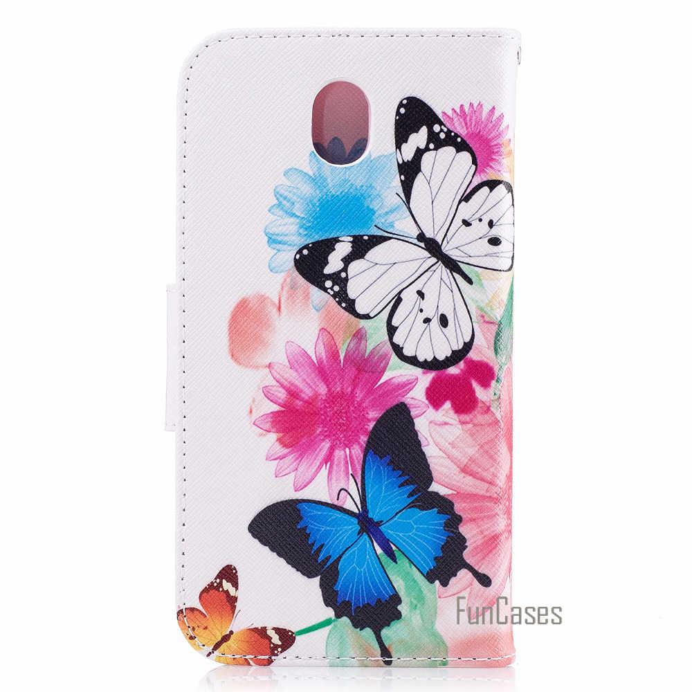 Telefon Abdeckung für fundas Samsung J530 J5 2017 Fall für coque Samsung Galaxy J5 2017 Eurasische Version Fall 5,2 zoll + karte Halter