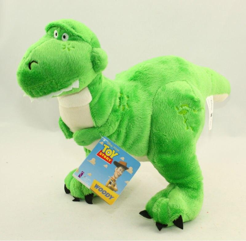 45cm New Retro Toy Story Rex Dinosaur Stuffed Plush Dolls Soft Toy