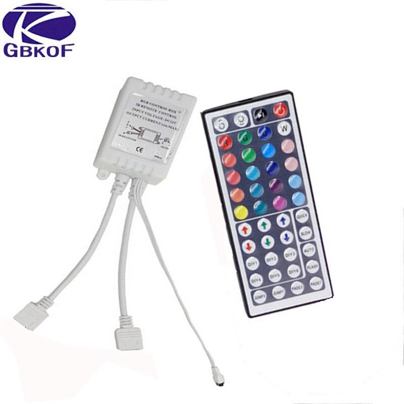 LED RGB IR RF Controller Steuerung Fernbedienung 12V 3A 2A 1A DC Steckernetzteil
