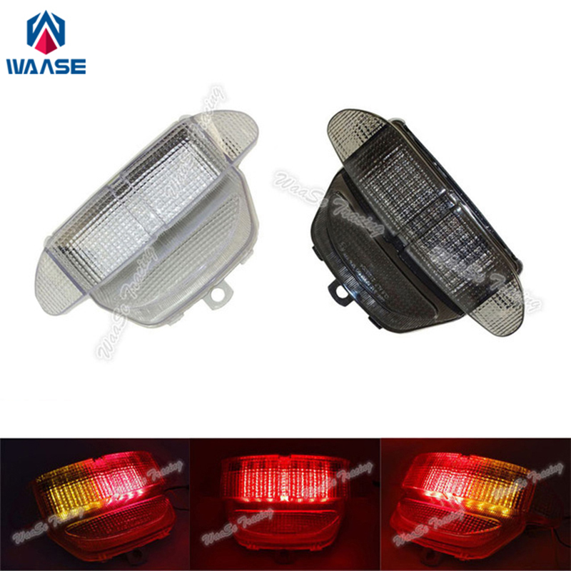 waase EMARK Rear Taillight Tail Brake Turn Signals Integrated Led Light Lamp For 1998 1999 HONDA Fireblade CBR 900 RR CBR900RR motorcycle parts led tail brake light turn signals for honda cbr 600rr cbr1000rr rr fireblade smoke