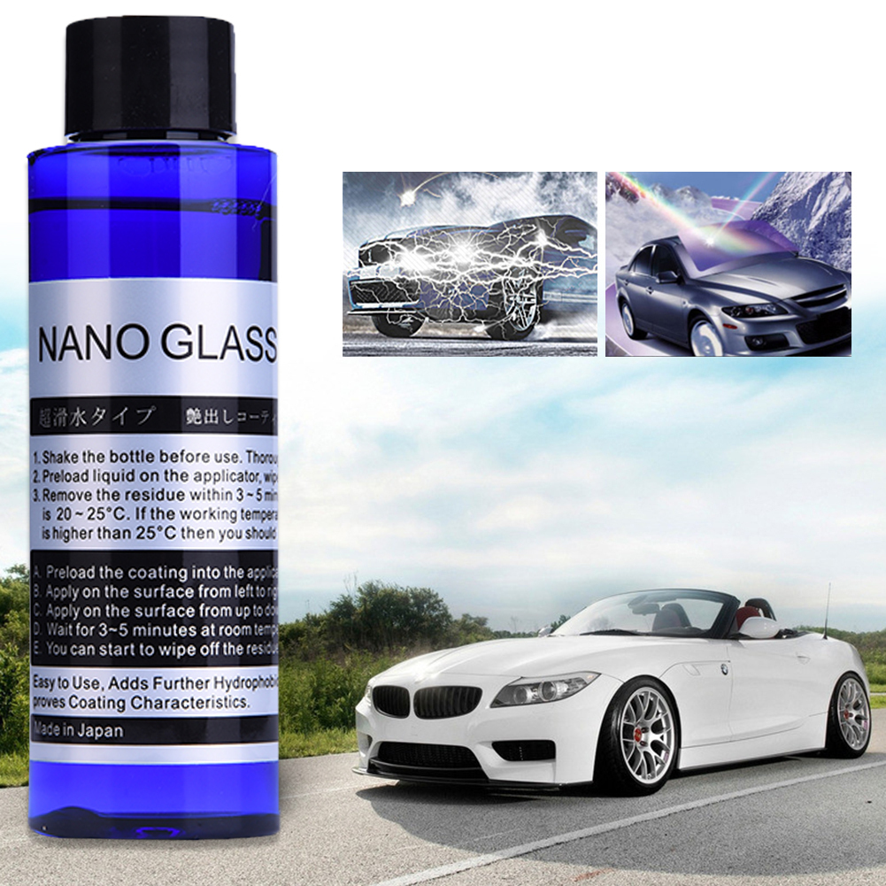100ml Car Polish Car Liquid glass Coating Paint Care Liquid Glass Paint Protective Foil Ceramic Coating Care tool aerosol spray factors affecting the glass ceramic coating