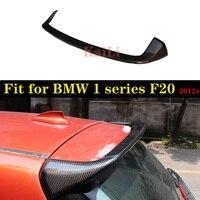For BMW 1 Series F20 Spoiler 2012 2019 116i 120i 118i M135i F20 F21 Carbon Fiber Rear Spoiler Wing Lip AC Style F20 Spoilers