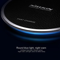 Nillkin Fast Magic Disk Qi Wireless Charger For Samsung S6 S7 Edge S8 Plus Note 5