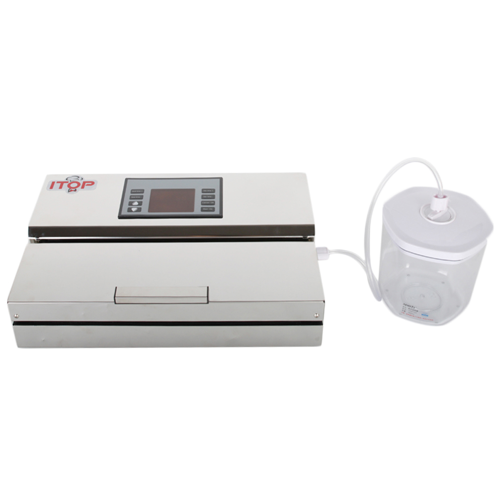 Image 3 - ITOP Food Vacuum Sealer With Vacuum Bags Packaging Machine Household Commercial Sous Vide Cooker Low Temperature Cooking Machine-in Vacuum Food Sealers from Home Appliances