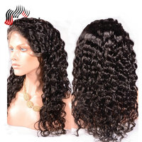 Sunnymay Pre Plucked Full Lace Wigs Loose Deep Wave Malaysian Virgin Hair Human Hair Wigs With Baby Hair For Women