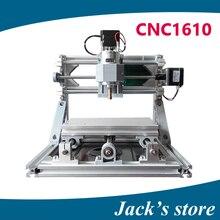 Cnc 1610, diy máquina de grabado del cnc, mini Pcb Fresadora Pvc, máquina de Talla de madera, cnc router, cnc1610, GRBL control